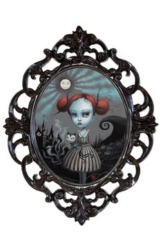 Image of Verity Graves-Skellington -Our Lovechild - original pop surrealism painting by Mab Graves