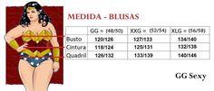 Resultado de imagem para tabela de medidas femininas plus size