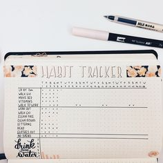 This month's Habit Tracker... as you can see... I suck at habits. ... El registro de hábitos de este mes.. como pueden ver... no soy muy buena en esto. ... #bujo #bulletjournal #2018 #February #habittracker #mexico #bujomx #tombow #micron #beautiful #pretty #color #winter #holidays #bulletjournaling #bulletjournaljunkies #bujoideas #bujojunkies #bulletjournalcommunity #minimalistbujo