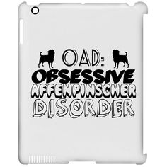 OAD Obsessive Affenpinscher Disorder iPad Cases