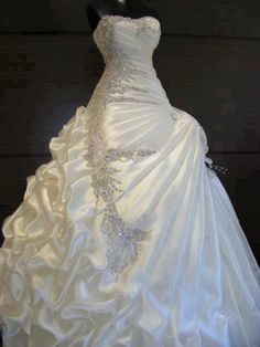 Wholesale - Custom Made, Ball Gown Cheap Wedding Dress 2013 Beaded Bridal  - Click image twice for more info - See a larger selection of bridal dress at http://zweddingsupply.com/product-category/bridal-dresses/ - women, bride, wedding, wedding style, wedding fashion.