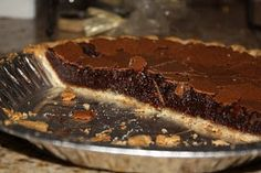 Bruises and Bows: Paula Deen's Old Fashioned Fudge Pie