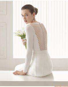A-linie Exklusive Schlichte Brautkleider aus Softnetz mit Applikation