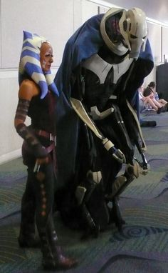 Cosplay Clone Wars. Those are fabulous!!