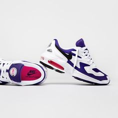 """What's your opinion on the new Nike Air Max 2 Light Colorway """"Court Purple""""? Nike Air Max 2, New Nike Air, Hypebeast, Streetwear, Sneaker Trend, Sport, Pisa, Shoes Sneakers, Purple"""