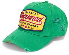 Green Baseball Cap by DSquared. Buy for  195 from Saks Fifth Avenue 5dbf00571f7