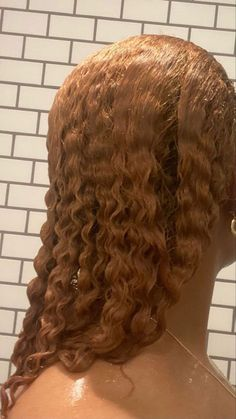 Dyed Curly Hair, Dyed Natural Hair, Dye My Hair, Curly Hair Styles, Natural Hair Styles, Baddie Hairstyles, Braided Hairstyles, Dreadlock Hairstyles, Hair Inspo