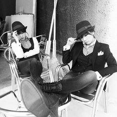 少女時代テヨン&サニー、男前2人の待機姿公開: 少女時代のブログ【K-POPガールズグループ】
