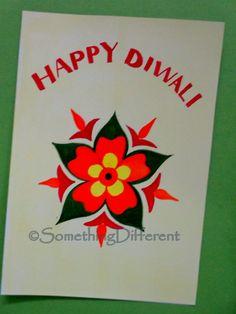 Diwali Greeting card Diwali Cards, Diwali Greeting Cards, Diwali Greetings, Greeting Cards Handmade, Diwali Festival, School Craft, Happy Diwali, Holiday Traditions, Ballerina