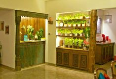 Planter cum room divider asian style living room by uttara and adwait furniture asian Luxury Home Decor, Luxury Homes, Home Decor Australia, Small Sitting Areas, Kirkland Home Decor, Disney Home Decor, Farm Stay, Rustic Style, Country Style