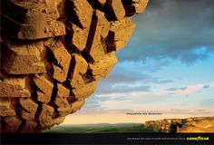 Read more: https://www.luerzersarchive.com/en/magazine/print-detail/goodyear-31478.html Goodyear This campaign for Goodyear tyres uses diminutive forms of famous Brazilian mountains otherwise considered daunting by motorists. Claim: Goodyear's Wrangler range. Made to overcome nature's little obstacles. Tags: Hilton Ribeiro,Goodyear,Alexandre Silveira,McCann Erickson, Sao Paulo,Marcos Teixeira