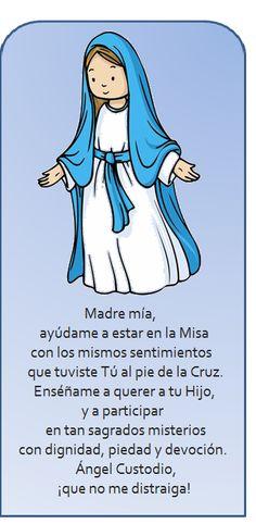 oración antes de misa.
