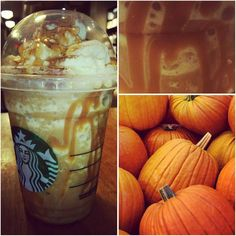 Just Added : *PERFECT PUMPKIN FRAPPUCCINO* !! The festive drinks are starting to roll in & we love how festive the Perfect Pumpkin Frappuccino is!