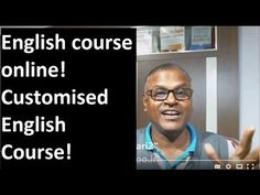 English course online! Customised English Course! Indian English Teacher!