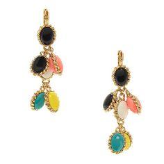 linear drop earrings by kate spade