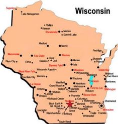 This is great! Bet you don't know most of these 20 interesting facts about Wisconsin.