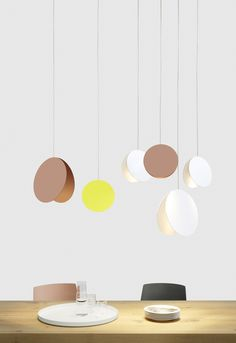 METAL PENDANT LAMP LT05 NORTH NORTH COLLECTION BY E15 | DESIGN STUDIO BESAU-MARGUERRE
