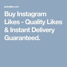 Buy Instagram Followers, Delivery, Stuff To Buy