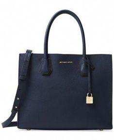 91a2c24d0190 Michael Michael Kors Studio Mercer Large Convertible Tote - Blue  #Handbagsmichaelkors Michael Kors Bag,