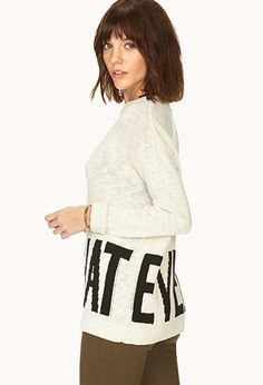 Whatever Sweater | FOREVER 21 - 2000126535