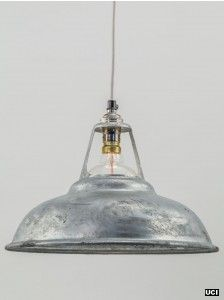 galvanised shade | pendant