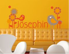 Your OWN name - type it in here! (wall decal)