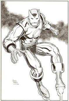 Iron Man by Art Adams