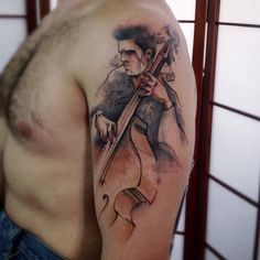 Double bass ... By Victor Montaghini