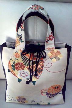 Etsy の Japanese Vintage Obi Bag by YoshCrafts