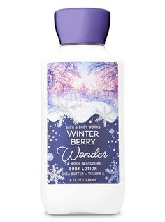 Signature Collection - Winter Berry Wonder Super Smooth Body Lotion by Bath & Body Works Bath N Body Works, Bath And Body Works Perfume, Body Lotions, Skin So Soft, Body Spray, Shower Gel, Smell Good, Body Care, It Works