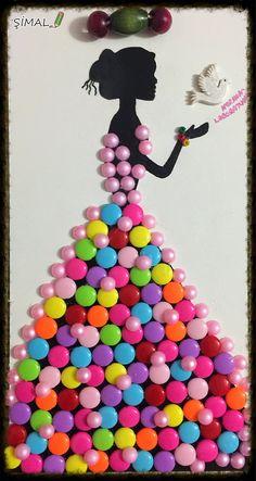 Best 9 Artes no Diy And Crafts, Crafts For Kids, Arts And Crafts, Paper Crafts, Quilling Craft, Paper Quilling, Alice In Wonderland Cross Stitch, Diy Y Manualidades, Flower Rangoli