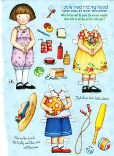 Paper Doll by Mary Engelbreit Little Red Riding Hood