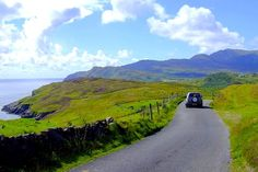 Coastal drive - Donegal | Ireland. I love the relatively remote, uncluttered beauty of this part of Ireland
