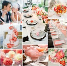 wedding-inspiration-coral-red-pink-yellow
