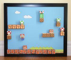 Mario Magnetic Board