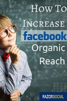 How to increase Facebook organic reach #facebook