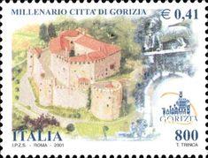 Emesso il 28 aprile 2001 800 L. - 0,41 € - Castello di Gorizia