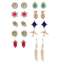 20X Havana Stud Earrings Pack