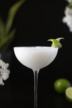 Aquavit Cocktails, Cocktail Syrups, Cocktail Garnish, Cocktail Recipes, Coconut Syrup, Daiquiri Recipe Classic, Schnapps, Recipes, Drink Recipes