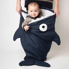 Saco Baby Bite - Dark Blue Shark.