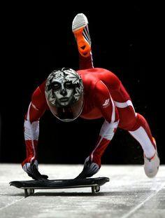 Canada's Sarah Reid, Sochi Olympics 2014 Photographer: Andrew Milligan/PA