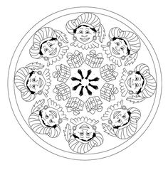 St Nicholas Day, Mandala Coloring, Christmas Themes, Saints, Seo, Stage, December, Animation, Plates