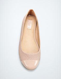 SNAKESKIN POINTED BALLERINA - Shoes - Girl (2-14 years) - Kids - ZARA United States