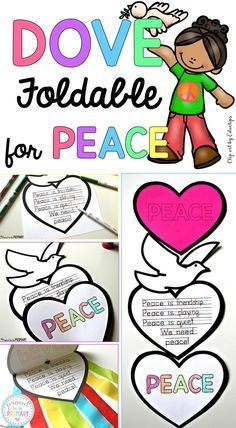 Beautiful Peace Craft: So Easy and Inspirational! - - Teach kids about peace in the classroom and create this FREE dove peace foldable writing craft for Remembrance Day, Veteran's Day, MLK Day, International Peace Day. Poppy Craft For Kids, Art For Kids, Crafts For Kids, Remembrance Day Activities, Remembrance Day Poppy, Sunday School Lessons, Lessons For Kids, Bible Lessons, Writing Activities