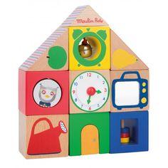Moulin Roty Cubes d'activités maison les popipop