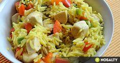 Szombat délelőtt takarítás, vásárlás, így nem biztos, hogy sok időnk marad főzni. Ilyenkor kiváló megoldások az egytálételek - köret és feltét egyben! Croatian Recipes, Hungarian Recipes, My Recipes, Healthy Recipes, Fried Rice, Pasta Salad, Food And Drink, Lunch, Meals