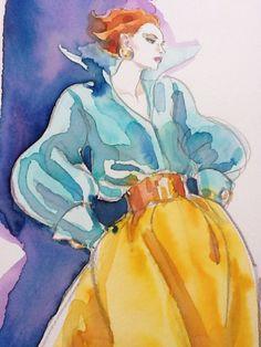 Fashion Art by Antonio Lopez