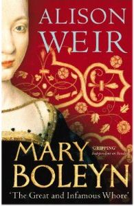 """""""Mary Boleyn: 'The Great and Infamous Whore' by Alison Weir"""" If this is about Mary, why do we have a royal lady of the house of Valois on the dust jacket? Mary Boleyn, Tudor, Alison Weir, I Love Books, Memoirs, Book Worms, Reading, Lady, October"""