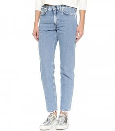 Acne Studios Boy Frayed Jeans
