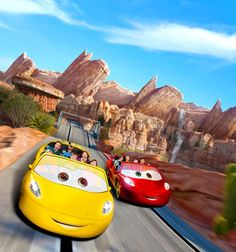 Disney Revs Up for Cars Land Opening